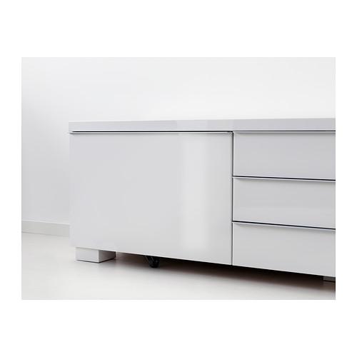 BESTÅ BURS - TV bench, high-gloss white | IKEA Hong Kong and Macau - PE402007_S4