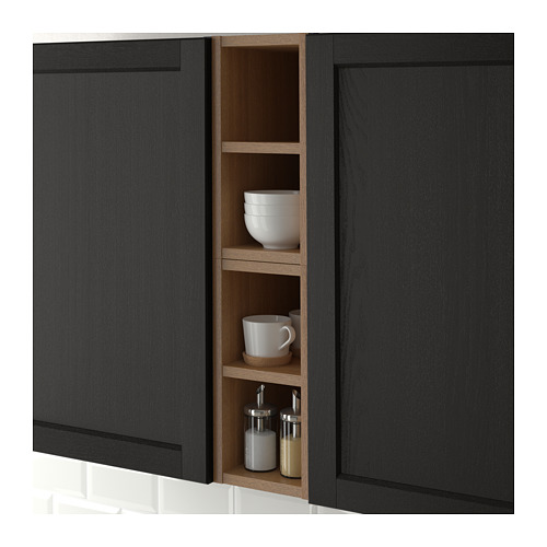 VADHOLMA - open storage, brown/stained ash | IKEA Hong Kong and Macau - PE661106_S4