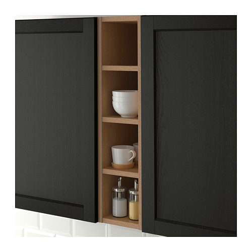 VADHOLMA - open storage, brown/stained ash | IKEA Hong Kong and Macau - PE661108_S4