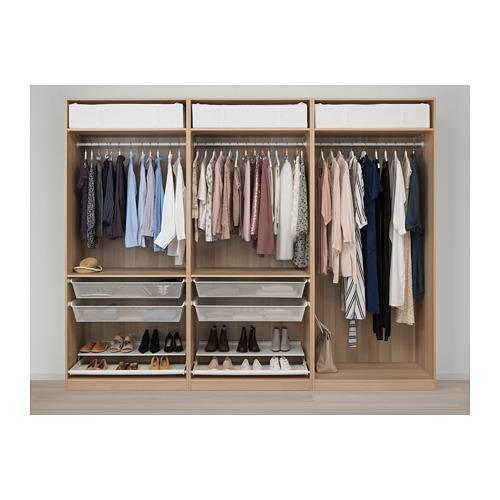 PAX - 衣櫃, 染白橡木紋/Forsand 染白橡木紋   IKEA 香港及澳門 - PE710068_S4