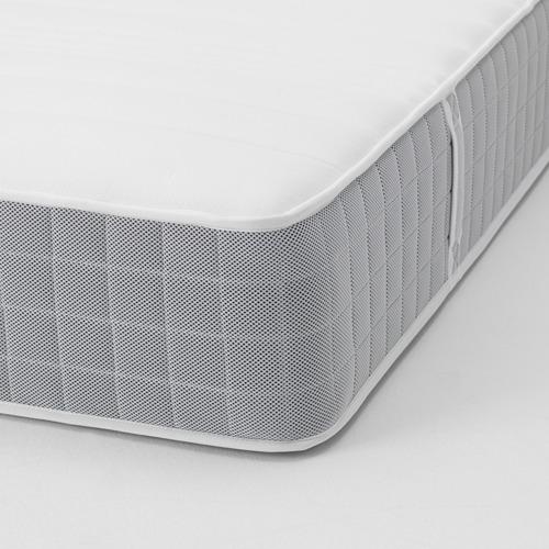 FLEINVÄR - pocket sprung mattress, extra firm/light grey, queen   IKEA Hong Kong and Macau - PE662904_S4