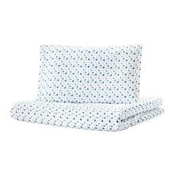 GULSPARV - 嬰兒被套枕袋套裝, 藍莓圖案 | IKEA 香港及澳門 - PE710096_S3