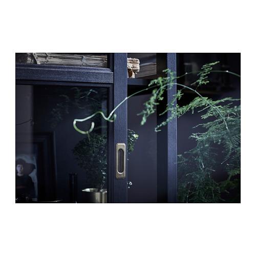 MALSJÖ - glass-door cabinet, black stained   IKEA Hong Kong and Macau - PH150651_S4