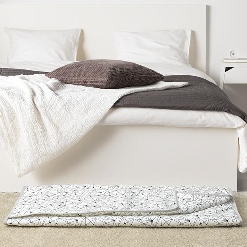 LURVIG - 寵物被舖, 白色/黑色 | IKEA 香港及澳門 - PE749475_S4