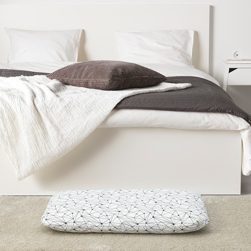 LURVIG - 咕, 白色/黑色   IKEA 香港及澳門 - PE749494_S4
