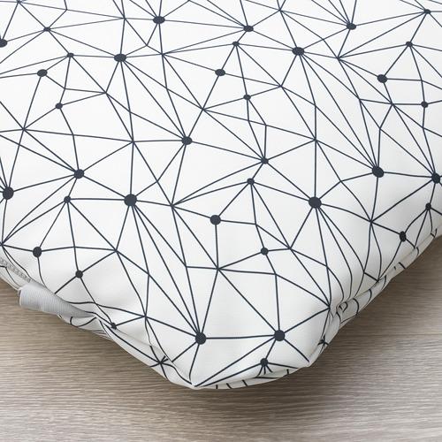 LURVIG - 咕, 白色/黑色   IKEA 香港及澳門 - PE749496_S4
