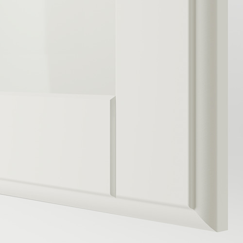 PAX/TYSSEDAL - wardrobe combination, white/white glass | IKEA Hong Kong and Macau - PE749567_S4