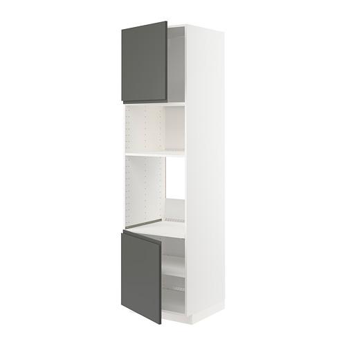 METOD - hi cb f oven/micro w 2 drs/shelves, white/Voxtorp dark grey | IKEA Hong Kong and Macau - PE749625_S4