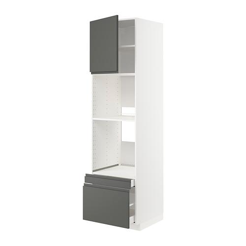 METOD/MAXIMERA - 焗爐用高櫃組合, 白色/Voxtorp 深灰色 | IKEA 香港及澳門 - PE749612_S4