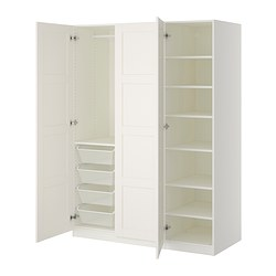 PAX - wardrobe, white/Bergsbo white | IKEA Hong Kong and Macau - PE402253_S3