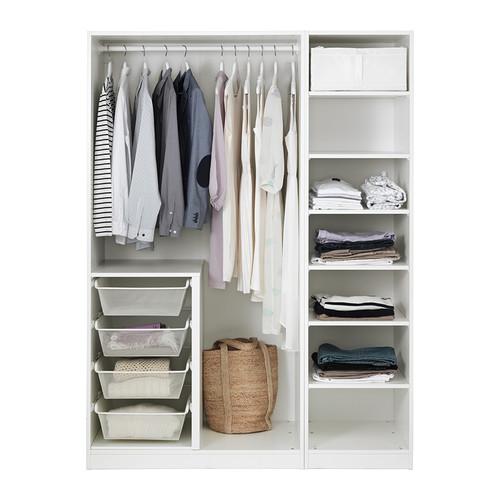 PAX/GRIMO wardrobe combination