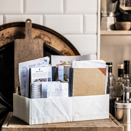 STUK - 分格貯物箱, 20x34x10cm, 白色 | IKEA 香港及澳門 - PE805301_S4