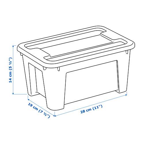 SAMLA - 5 litres box | IKEA Hong Kong and Macau - PE710191_S4