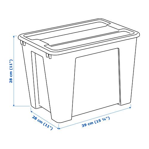 SAMLA - 22 litres box | IKEA Hong Kong and Macau - PE710205_S4