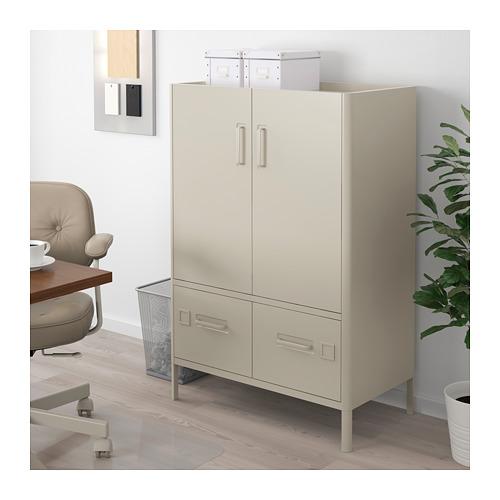 IDÅSEN - cabinet with doors and drawers, beige | IKEA Hong Kong and Macau - PE710218_S4