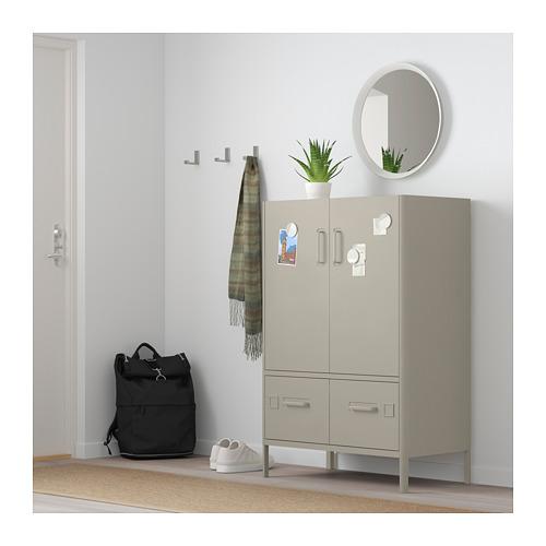 IDÅSEN - cabinet with doors and drawers, beige | IKEA Hong Kong and Macau - PE710220_S4