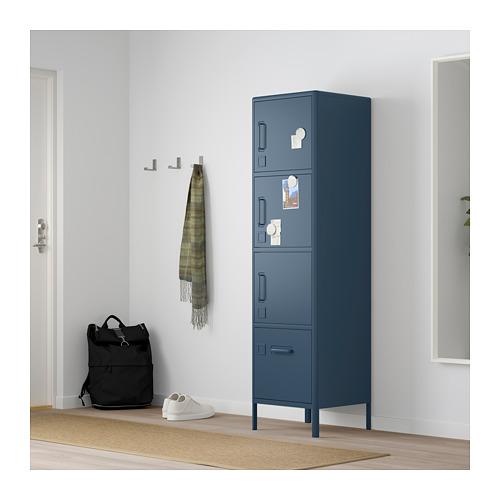 IDÅSEN - high cabinet with drawer and doors, blue | IKEA Hong Kong and Macau - PE714162_S4