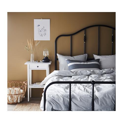 METTALISE - cushion cover, white/dark grey | IKEA Hong Kong and Macau - PH158415_S4