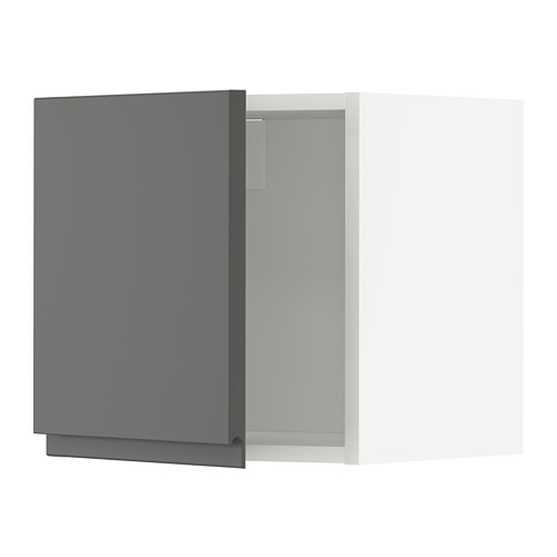 METOD - wall cabinet, white/Voxtorp dark grey | IKEA Hong Kong and Macau - PE749720_S4