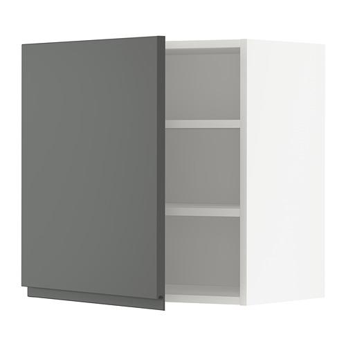 METOD - 吊櫃連層板, 白色/Voxtorp 深灰色   IKEA 香港及澳門 - PE749723_S4