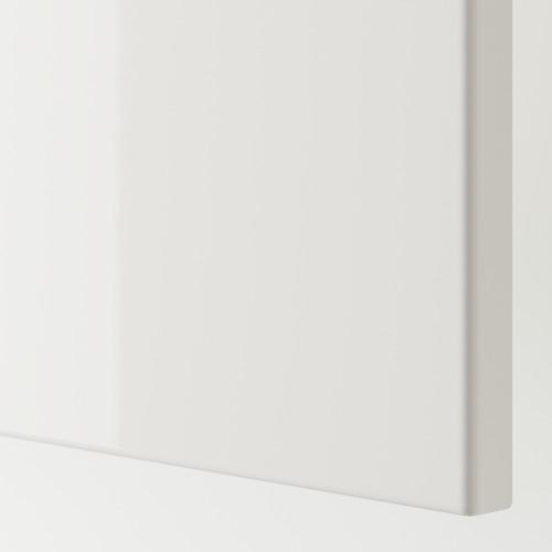 PAX/FARDAL/VIKEDAL - wardrobe combination, high-gloss white/mirror glass | IKEA Hong Kong and Macau - PE749754_S4