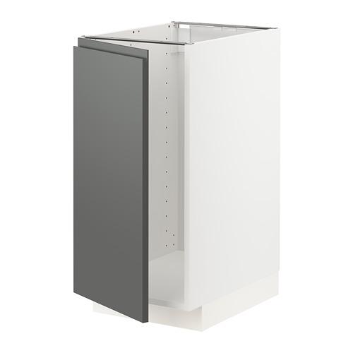 METOD - base cab f sink/waste sorting, white/Voxtorp dark grey | IKEA Hong Kong and Macau - PE749825_S4