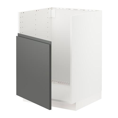 METOD base cabinet f BREDSJÖN sink