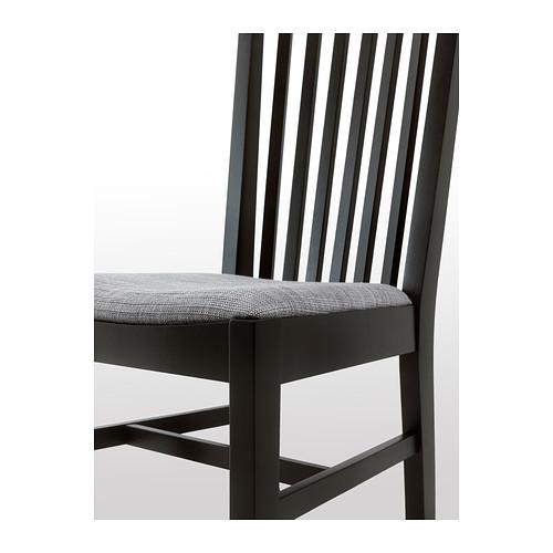 NORRNÄS - 椅子, 黑色/Isunda 灰色   IKEA 香港及澳門 - PE402857_S4