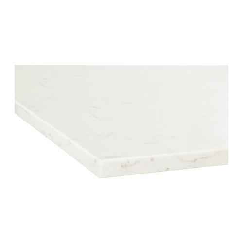 KASKER - custom made worktop, white marble effect/quartz | IKEA Hong Kong and Macau - PE661549_S4