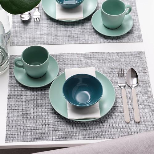 FÄRGKLAR - bowl, glossy dark turquoise, 12cm | IKEA Hong Kong and Macau - PE805419_S4