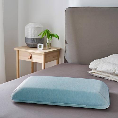 HÅRGÄNGEL - ergonomic pillow, side/back sleeper, light blue | IKEA Hong Kong and Macau - PE805447_S4