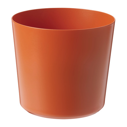 OMFÅNG - plant pot, in/outdoor orange | IKEA Hong Kong and Macau - PE809486_S4