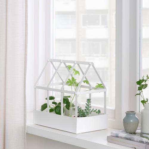 SENAPSKÅL - decoration greenhouse, in/outdoor white | IKEA Hong Kong and Macau - PE809479_S4