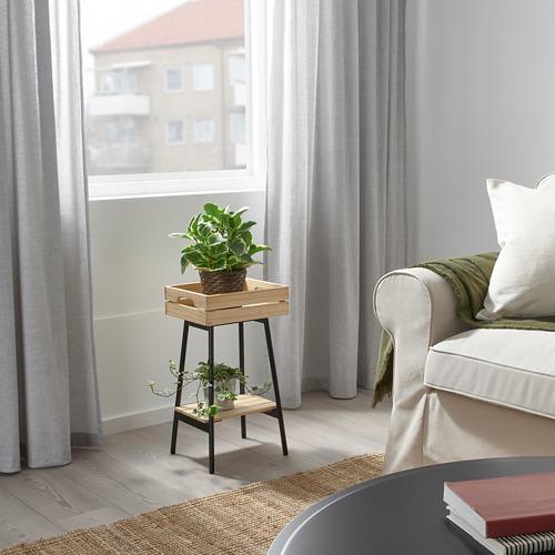 VANILJSTÅNG - 花盆架, 松木/黑色 | IKEA 香港及澳門 - PE809505_S4