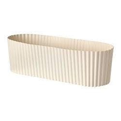 ÄPPELROS - 花盆, 室內/戶外用/灰白色 橢圓形 | IKEA 香港及澳門 - PE809516_S3