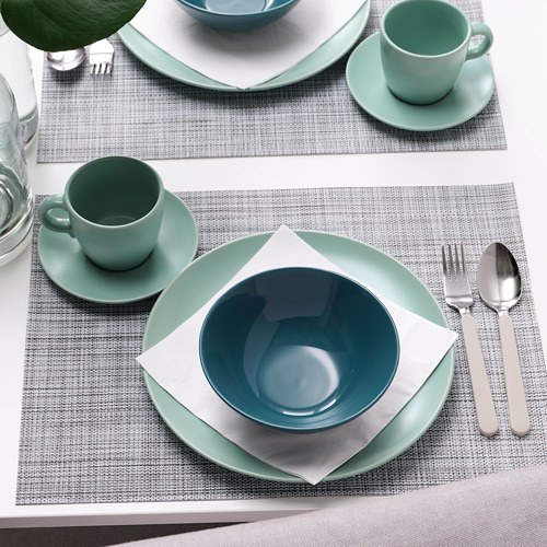 FÄRGKLAR - bowl, glossy dark turquoise, 19cm   IKEA Hong Kong and Macau - PE805522_S4