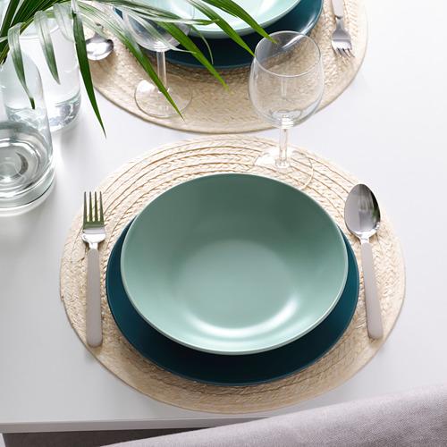 FÄRGKLAR - 湯碟, 啞面 淺湖水綠色, 23 厘米 | IKEA 香港及澳門 - PE805578_S4