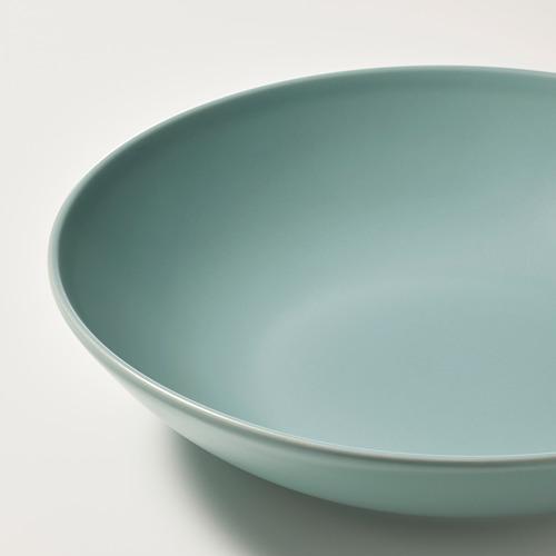 FÄRGKLAR - deep plate, matt light turquoise, 23cm | IKEA Hong Kong and Macau - PE805577_S4