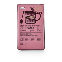 PÅTÅR - filter coffee, medium roast, Uganda/100 % Arabica beans/UTZ certified/organic | IKEA Hong Kong and Macau - PE661718_S3