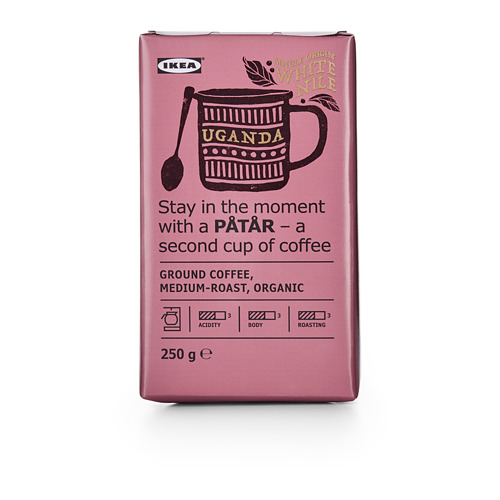PÅTÅR - filter coffee, medium roast, Uganda/100 % Arabica beans/UTZ certified/organic | IKEA Hong Kong and Macau - PE661718_S4