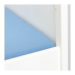 LEN - 嬰兒床床笠, 淺藍色 | IKEA 香港及澳門 - PE710484_S3