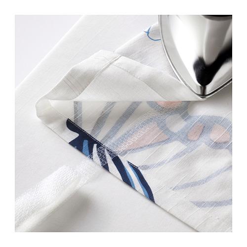 SÅNGLÄRKA - 窗簾連簾帶,一對, 蝴蝶/白色 藍色 | IKEA 香港及澳門 - PE710492_S4