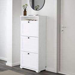 BRUSALI - 三格鞋櫃, 白色 | IKEA 香港及澳門 - PE559942_S3