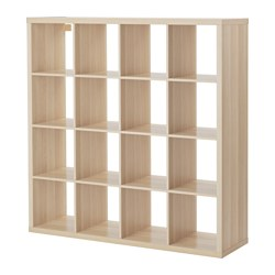 KALLAX - shelving unit, white stained oak effect | IKEA Hong Kong and Macau - PE606045_S3