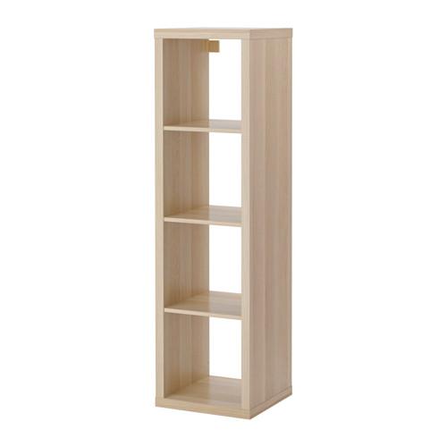 KALLAX - shelving unit, white stained oak effect | IKEA Hong Kong and Macau - PE606048_S4