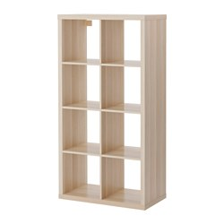 KALLAX - shelving unit, white stained oak effect | IKEA Hong Kong and Macau - PE606049_S3