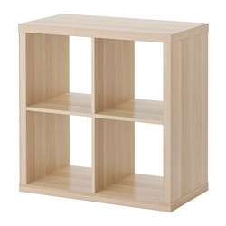 KALLAX - shelving unit, white stained oak effect | IKEA Hong Kong and Macau - PE606050_S3