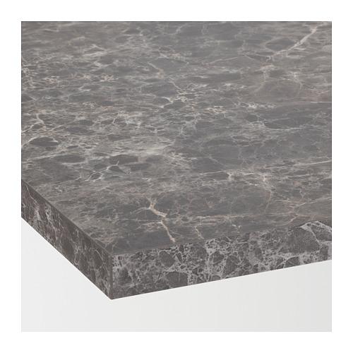 EKBACKEN - worktop, dark grey/marble effect laminate | IKEA Hong Kong and Macau - PE710542_S4