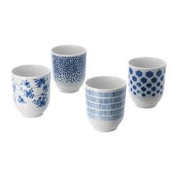 ENTUSIASM - 茶杯, 圖案/藍色 | IKEA 香港及澳門 - PE710554_S3