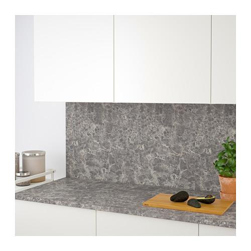 EKBACKEN - worktop, dark grey/marble effect laminate | IKEA Hong Kong and Macau - PE710636_S4